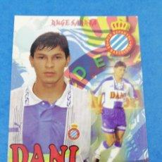 Coleccionismo deportivo: POSTAL MIGUEL ANGEL BENITEZ RCD ESPAÑOL ESPANYOL TEMPORADA 1996-1997 96-97 FUTBOL PARAGUAY.. Lote 183321287