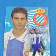 Coleccionismo deportivo: POSTAL JORDI LARDIN RCD ESPANYOL ESPAÑOL TEMPORADA 1996-1997 96-97 FUTBOL.. Lote 183332742