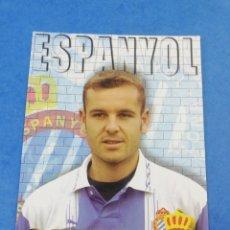 Coleccionismo deportivo: POSTAL NICOLAS OUEDEC RCD ESPANYOL ESPAÑOL TEMPORADA 1996 1997 96-97 FUTBOL.. Lote 183436803