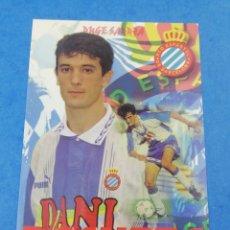 Coleccionismo deportivo: POSTAL PACHETA RCD ESPANYOL ESPAÑOL TEMPORADA 1996-1997 97-97 FUTBOL.. Lote 183437705