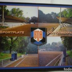 Coleccionismo deportivo: POSTAL EXTRANJERA FUTBOL-SPORTPLATZ-AM KAISERPARK. Lote 183499546