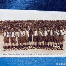 Coleccionismo deportivo: TARJETA POSTAL ATHLETIC CLUB TEMPORADA 1925 1926 HOMENAJE AL EQUIPO . Lote 183684932