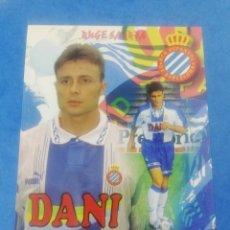 Coleccionismo deportivo: POSTAL CRISTOBAL PARRALO RCD ESPAÑOL ESPANYOL TEMPORADA 96-97 1996-1997 FUTBOL.. Lote 183844401