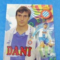 Coleccionismo deportivo: POSTAL TORRES MESTRE RCD ESPANYOL ESPAÑOL TEMPORADA 96-97 1996-1997 FUTBOL.. Lote 183911728