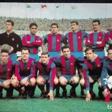 Coleccionismo deportivo: POSTAL C.F. BARCELONA TEMPORADA 1965-66. Lote 185967517