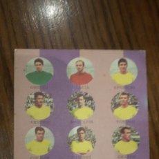 Coleccionismo deportivo: TARJETA FHER TARJEFHER AÑO 1964 U.D. LAS PALMAS. Lote 188502542
