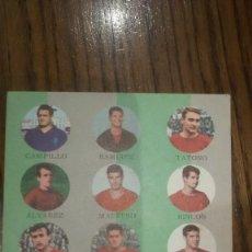 Coleccionismo deportivo: TARJETA FHER TARJEFHER AÑO 1964 REAL MURCIA. Lote 188503037