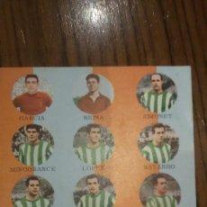 Coleccionismo deportivo: TARJETA FHER TARJEFHER AÑO 1964 CORDOBA C.F.. Lote 188504260