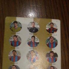 Coleccionismo deportivo: TARJETA FHER TARJEFHER AÑO 1964 F.C. BARCELONA. Lote 188504330