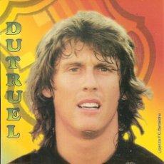 Coleccionismo deportivo: POSTAL DUTRUEL FC BARCELONA. Lote 189767485