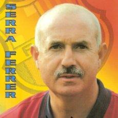 Coleccionismo deportivo: POSTAL LORENZO SERRA FERRER FC BARCELONA. Lote 189833265