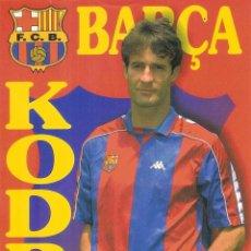 Coleccionismo deportivo: POSTAL KODRO FC BARCELONA. Lote 189833568