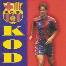 Coleccionismo deportivo: POSTAL KODRO FC BARCELONA. Lote 189833605