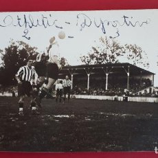 Colecionismo desportivo: FOTOGRAFIA FUTBOL FOTO PARTIDO ALAVES ATHLETIC BILBAO 1929 ORIGINAL FF7. Lote 191185487