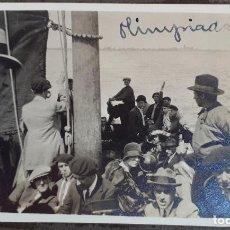 Coleccionismo deportivo: FOTOGRAFIA FUTBOL FOTO SELECCION ESPAÑOLA CAMINO A LA OLIMPIADA 1928 QUINCOCES ORIGINAL FF7. Lote 191188148
