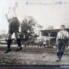Coleccionismo deportivo: FOTOGRAFIA FUTBOL FOTO PARTIDO SEMIFINAL ALAVES BARCELONA 1928 ORIGINAL FF7. Lote 191188680