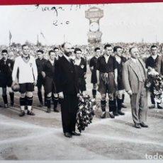 Coleccionismo deportivo: FOTOGRAFIA FUTBOL FOTO PARTIDO INTERNACIONAL PRAGA CHECOSLOVAQUIA 2 ESPAÑA 0,14-6-1930 ZAMORA .. FF7. Lote 191218335