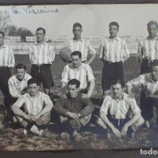 Coleccionismo deportivo: FOTOGRAFIA FUTBOL FOTO CLUB VIZCAINO 1929 QUINCOCES Y CIRIACO ORIGINAL FF7. Lote 191218830