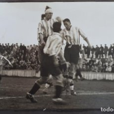 Coleccionismo deportivo: FOTOGRAFIA FUTBOL FOTO PARTIDO ALAVES SPORTING GIJON 1930 ORIGINAL FF7. Lote 191218977