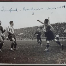 Coleccionismo deportivo: FOTOGRAFIA FUTBOL FOTO PARTIDO SEMIFINAL BARCELONA ALAVES 1928 ORIGINAL FF7. Lote 191219153