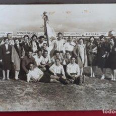 Coleccionismo deportivo: FOTOGRAFIA FUTBOL FOTO EQUIPO DEL ALAVES QUINCOCES Y CIRIACO ORIGINAL FF7. Lote 191219331