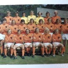 Collectionnisme sportif: POSTAL DE LA PLANTILLA AJAX 1974. Lote 191459028