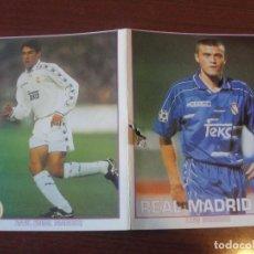 Coleccionismo deportivo: POSTAL REAL MADRID AÑOS 90 - RAÚL - PERFECTO ESTADO - ENVIO GRATIS. Lote 191525395