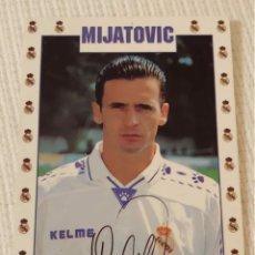 Coleccionismo deportivo: POSTAL MIJATOVIC 1996. Lote 191537787