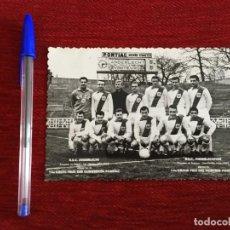 Colecionismo desportivo: R7681 POSTAL FOTO FOTOGRAFIA ORIGINAL DE PRENSA ONCE ALINEACION PLANTILLA RSC ANDERLECHT. Lote 191743545