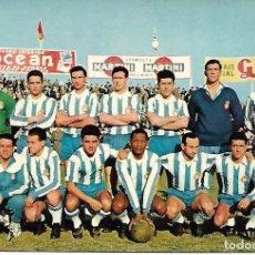 Coleccionismo deportivo: RCD. ESPAÑOL. POSTAL DE LA TEMPORADA 1960-61. Lote 192055858
