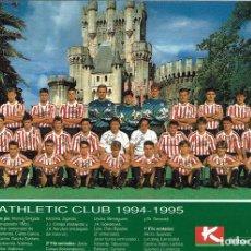 Coleccionismo deportivo: ATHLETIC CLUB 1994-1996. Lote 192810780