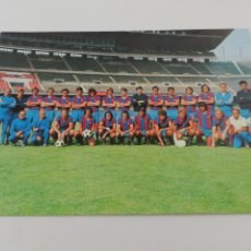 Collezionismo sportivo: POSTAL PLANTILLA FC BARCELONA BARÇA TEMPORADA 1973-74 73-74 CRUYFF FUTBOL.. Lote 192898935