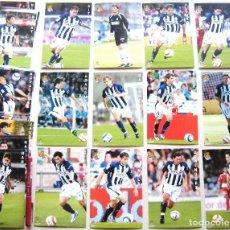 Coleccionismo deportivo: SET 23 POSTALES REAL SOCIEDAD 2004-05 SAN SEBASTIAN DONOSTI POSTAL OFICIAL POSTCARD CARDS R32. Lote 192905355