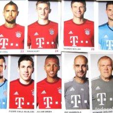 Coleccionismo deportivo: SET 34 POSTKARTEN BAYERN MUNCHEN MUNICH 2015-16 POSTAL OFICIAL FUTBOL POSTCARDS CARDS R47. Lote 192906392