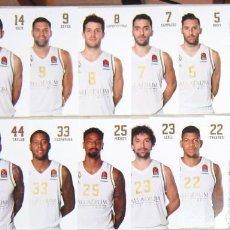 Collectionnisme sportif: SET 16 POSTALES JUGADORES REAL MADRID BASKET 19-20 BALONCESTO POSTAL OFICIAL POSTCARD R. Lote 192906975