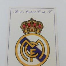 Colecionismo desportivo: POSTAL ESCUDO REAL MADRID CF FUNDADO EN 1902 FASE 1996 FUTBOL.. Lote 194071591