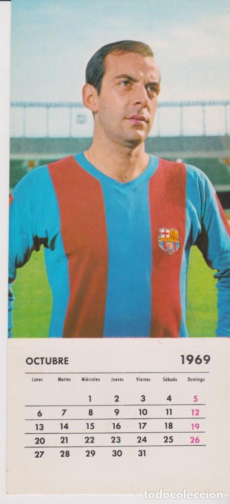 CALENDARIO FUTBOL 1969 -- F.C. BARCELONA 1968-69 -- PEREDA (Coleccionismo Deportivo - Postales de Deportes - Fútbol)