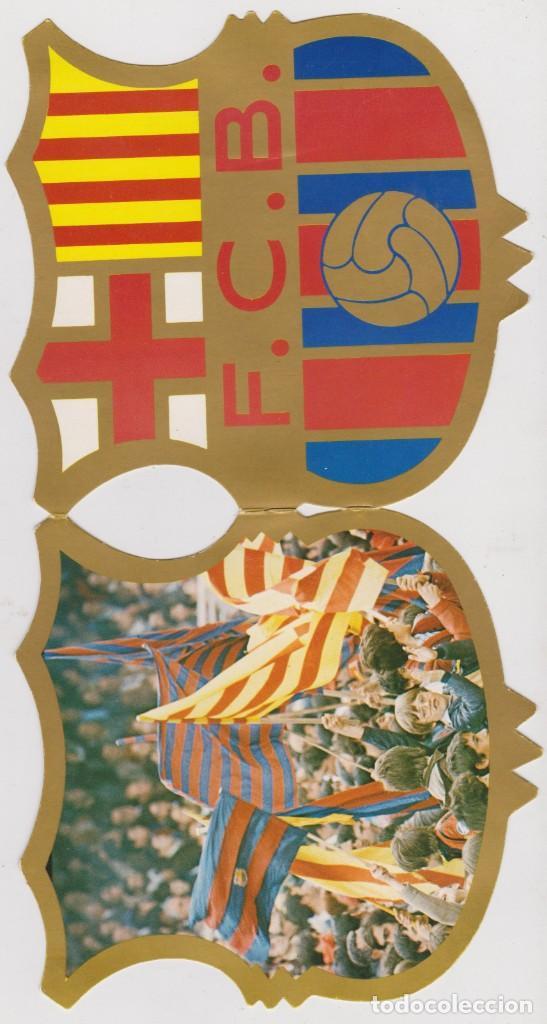 F.C. BARCELONA -- FELICITACIÓ DE NADAL (Coleccionismo Deportivo - Postales de Deportes - Fútbol)