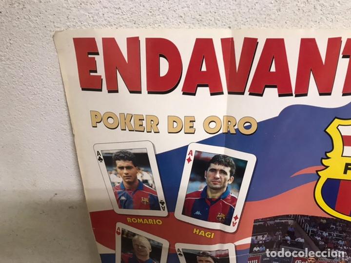 Coleccionismo deportivo: Póster del Barça año 1994/95 - Foto 3 - 194310025