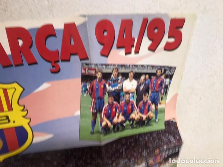 Coleccionismo deportivo: Póster del Barça año 1994/95 - Foto 5 - 194310025