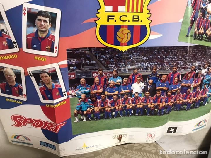Coleccionismo deportivo: Póster del Barça año 1994/95 - Foto 7 - 194310025