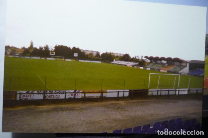 POSTAL FRANCIA MONTAIGU .-FUTBOL STADE MAXIME BOSSIS EDIC.LIMITADA (Coleccionismo Deportivo - Postales de Deportes - Fútbol)