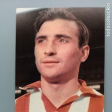Coleccionismo deportivo: POSTAL FUTBOL ATHLETIC ATLETICO BILBAO VIZCAYA FUTBOL RAUL FOTO SEGUI EDITORIAL BERGAS SAN MAMES. Lote 194588535