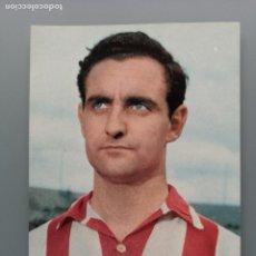 Coleccionismo deportivo: POSTAL FUTBOL ATHLETIC ATLETICO BILBAO VIZCAYA FUTBOL ZORRIQUETA FOTO SEGUI EDIT BERGAS SAN MAMES. Lote 194588761