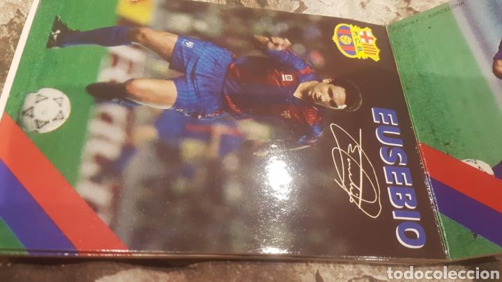 Coleccionismo deportivo: Postales firmadas jugadores Barça año 1992 - Foto 4 - 194640077