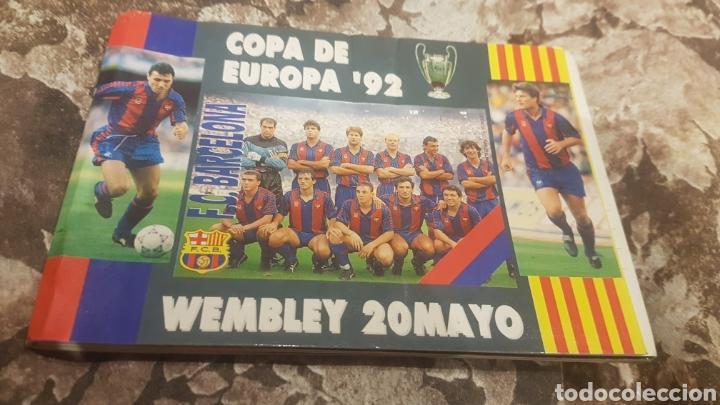 POSTALES FIRMADAS JUGADORES BARÇA AÑO 1992 (Coleccionismo Deportivo - Postales de Deportes - Fútbol)