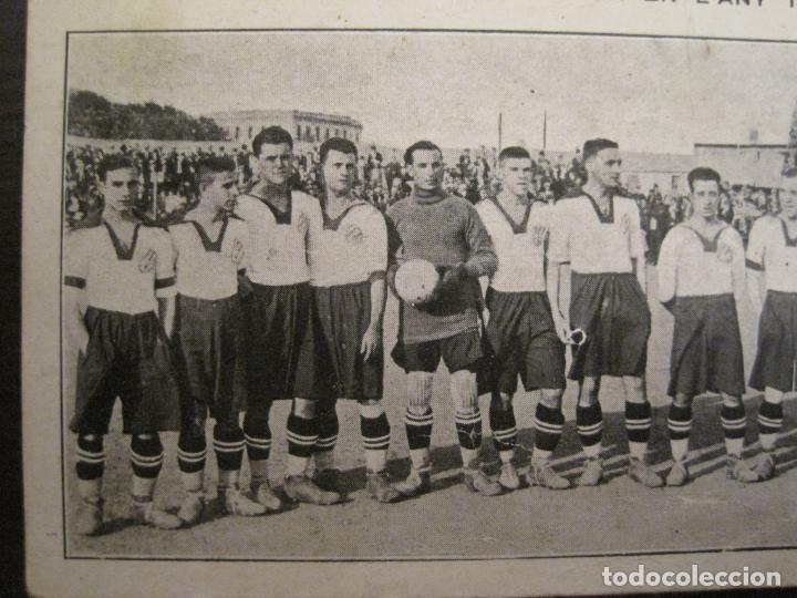 Coleccionismo deportivo: C.D. EUROPA-CAMPIO DE CATALUNYA ANY 1923-EQUIPO EN EL CAMPO-POSTAL DE FUTBOL ANTIGUA-(67.916) - Foto 3 - 194731838