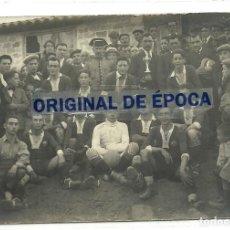 Coleccionismo deportivo: (F-200278)POSTAL FOTOGRAFICA EQUIPO DE FOOT-BALL AÑOS 20. Lote 194878315