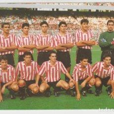 Coleccionismo deportivo: POSTAL ATHLETIC CLUB BILBAO 1990- 91 -- NUEVA SIN USO. Lote 195144333