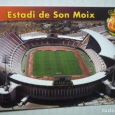 Coleccionismo deportivo: POSTAL FUTBOL ESTADIO SON OIX -MALLORCA -DORSO DATOS CAMPO. Lote 195163156